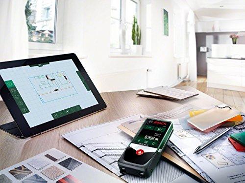 Laser Entfernungsmesser Mit App : Bosch laser entfernungsmesser plr 50 c app funktion 3x aaa