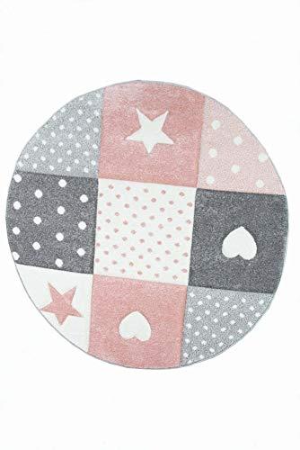 Kinderteppich Spielteppich Teppich Kinderzimmer Babyteppich mit Herz ...