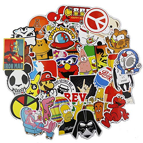 Aufkleber Pack 100 Pcs Graffiti Sticker Decals Vinyls Für Laptop Kinder Autos Motorrad Fahrrad Skateboard Gepäck Bumper Sticker Hippie